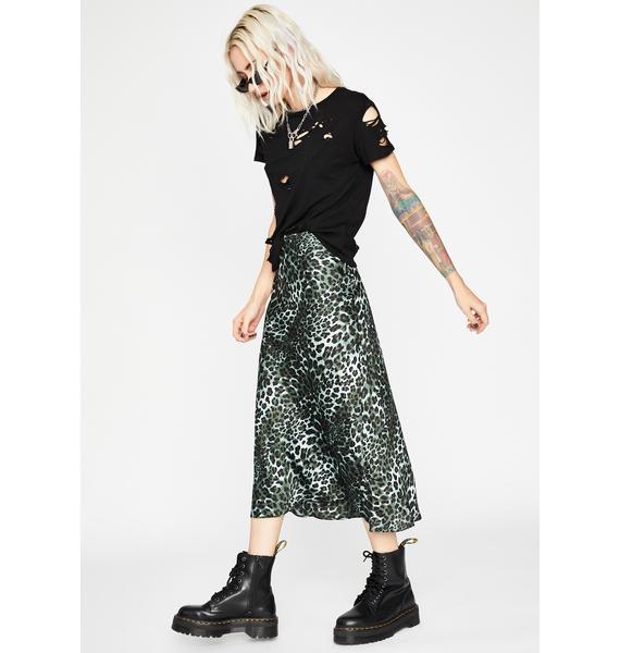 Catty Lush Club Midi Skirt