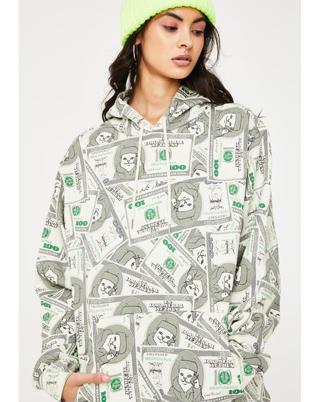 Money Bags Graphic Hoodie