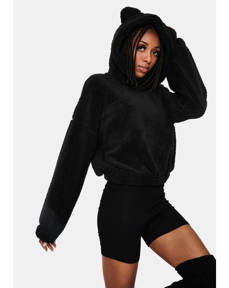 Noir Sumthin' Sweet Fleece Pullover