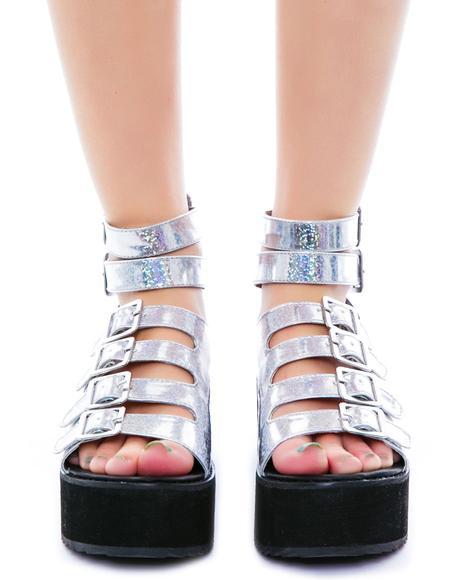 Mirage Flatform Sandal