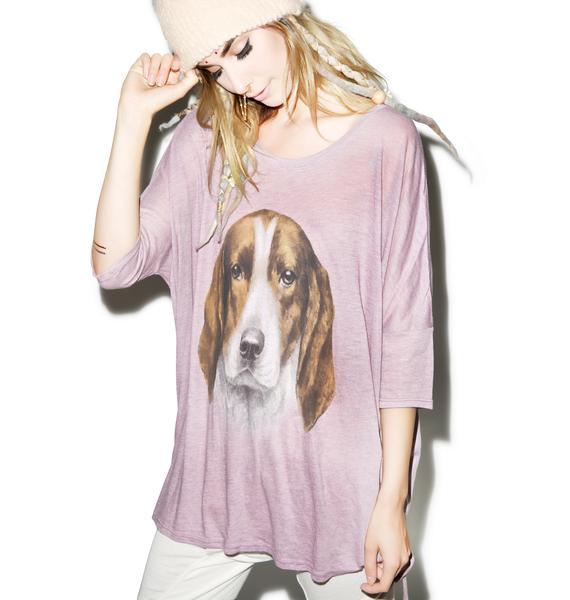 Wildfox Couture The Hound Sunny Morning Tee