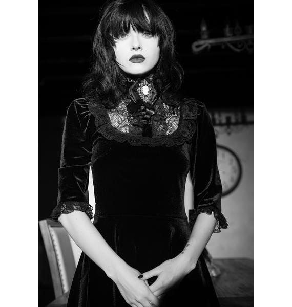 Widow Ladyhawke Velvet Dress