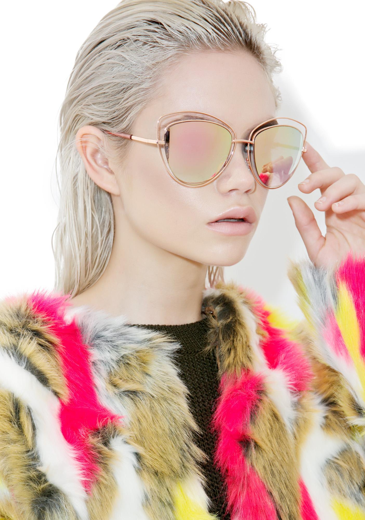 Melinda Cat Eye Sunglasses