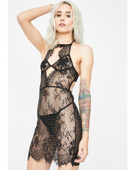 Icy Temptress Lace Nightie