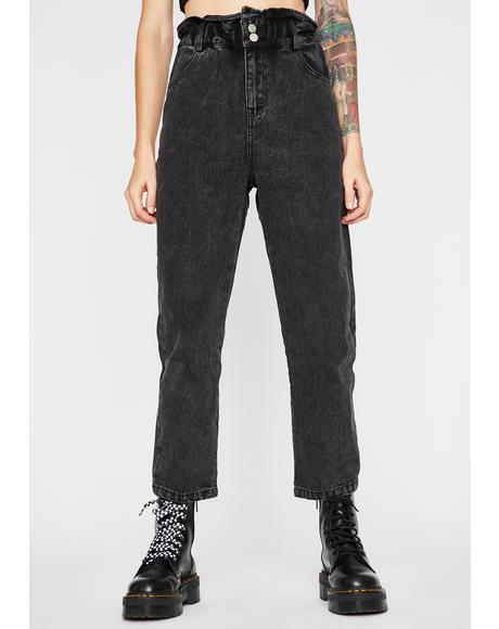 Dark Savage Life Slim Pants