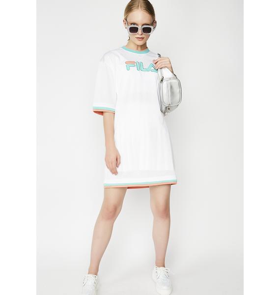 Fila Drew Mesh Dress