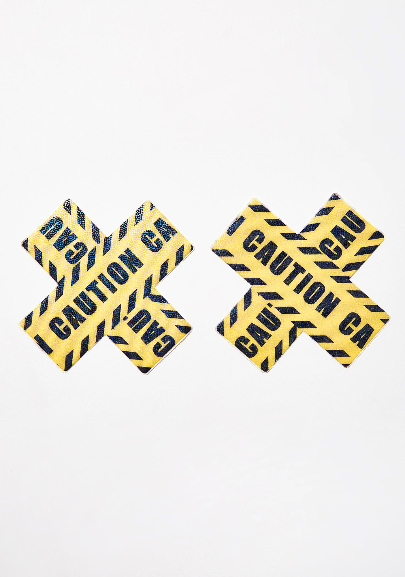 Pastease Caution Tape Plus Pasties