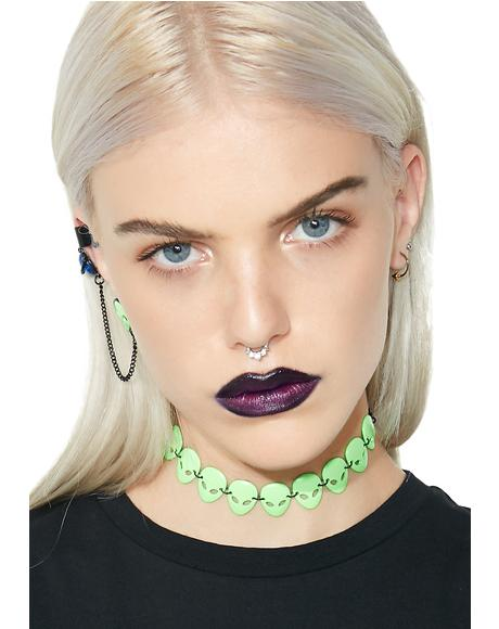 Martian Mayhem Choker