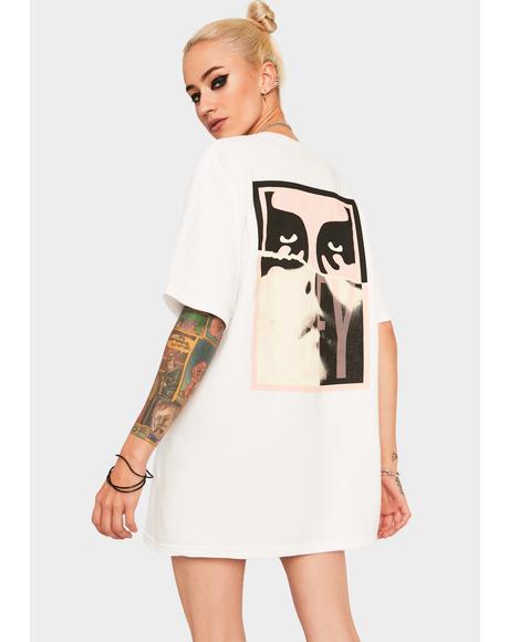 Obey Noir Women Icon Graphic Tee