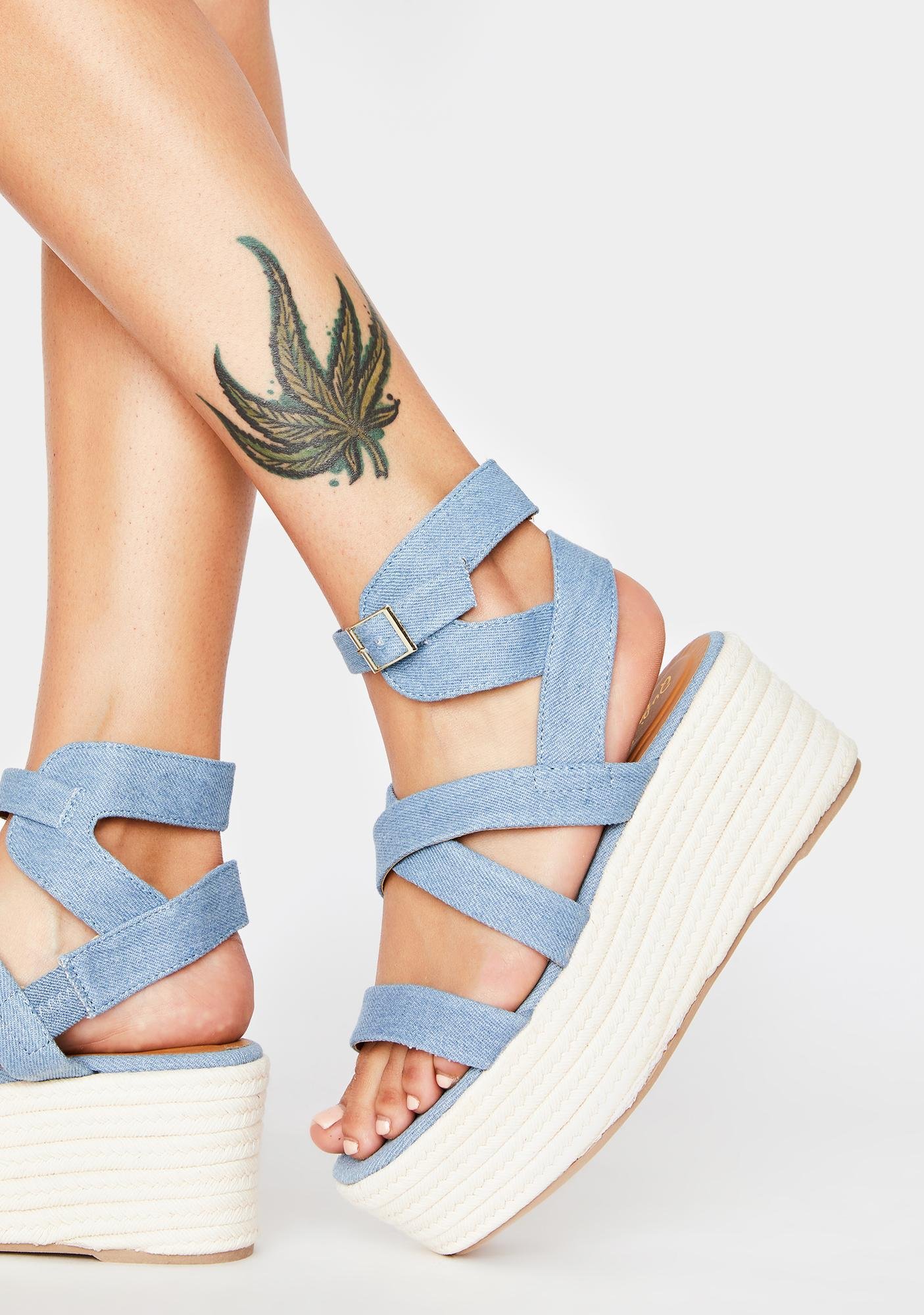 Out With A Bang Gladiator Sandals