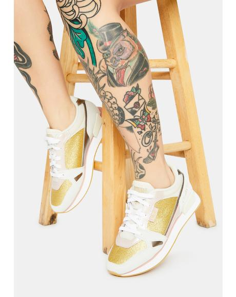 X Charlotte Olympia Mile Rider Sneakers