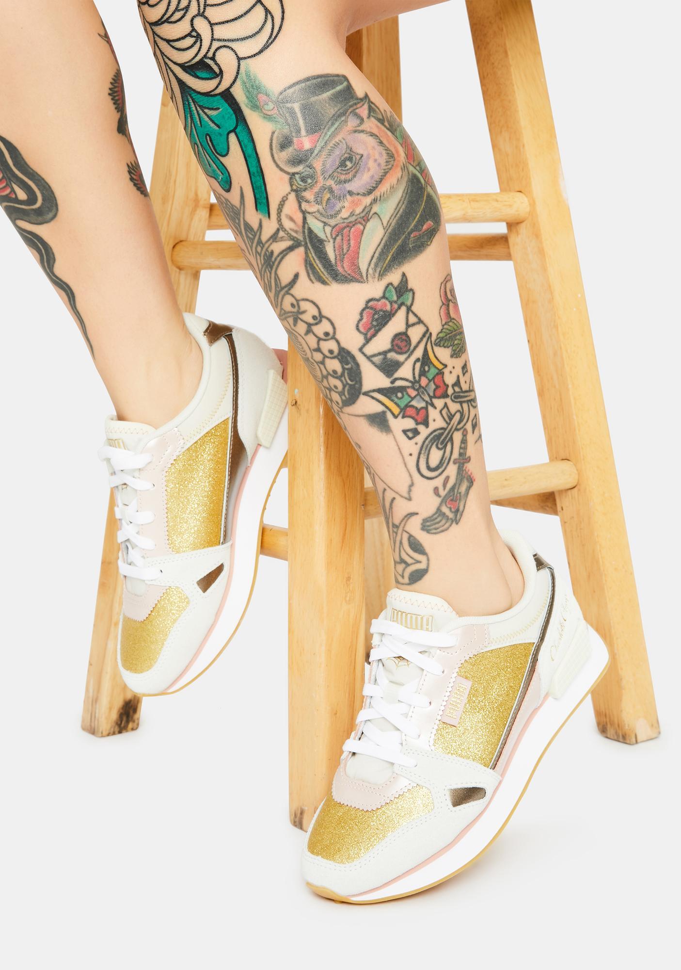PUMA X Charlotte Olympia Mile Rider Sneakers