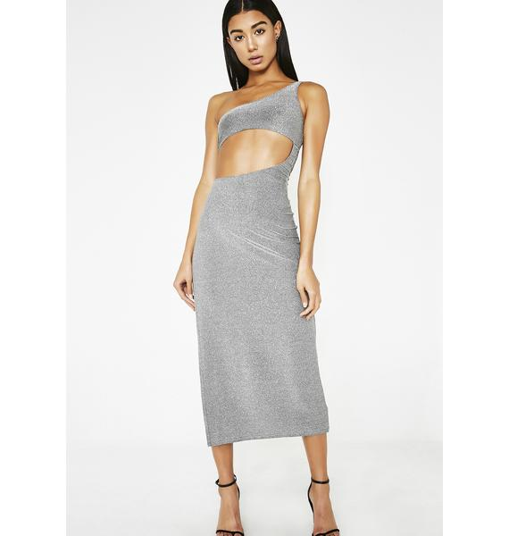 Poster Grl Glamour Glow Cut Out Dress