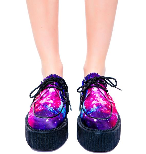 T.U.K. Galaxy Round Mondo Creeper