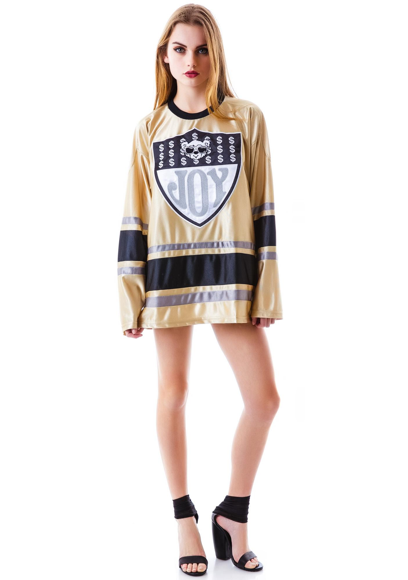 Joyrich Joy Team Logo Athletic Long Sleeve Tee