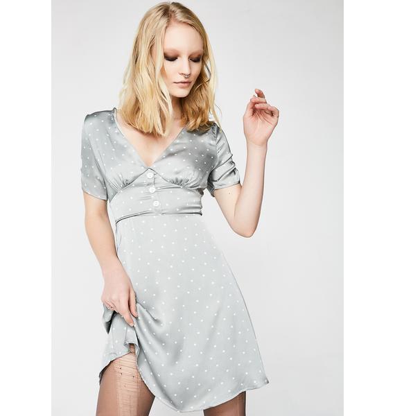 True Desire Satiny Dress