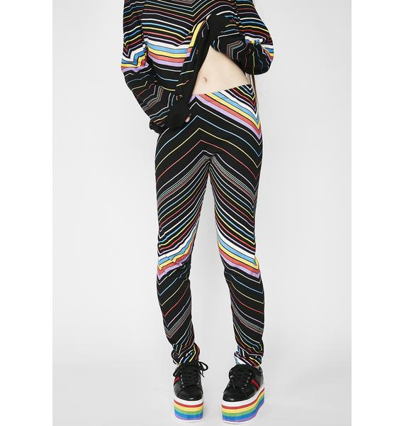 Wildfox Couture Island Chevron Knox Pants