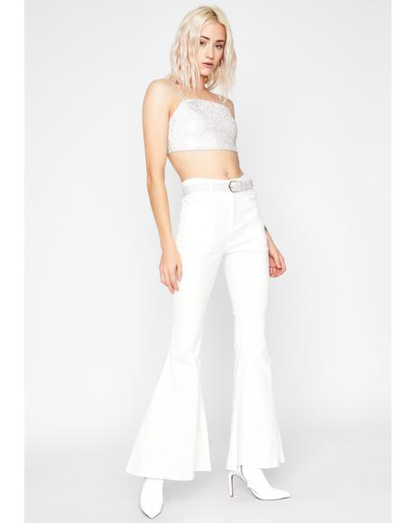 Pure Blingy Nights Flare Pants