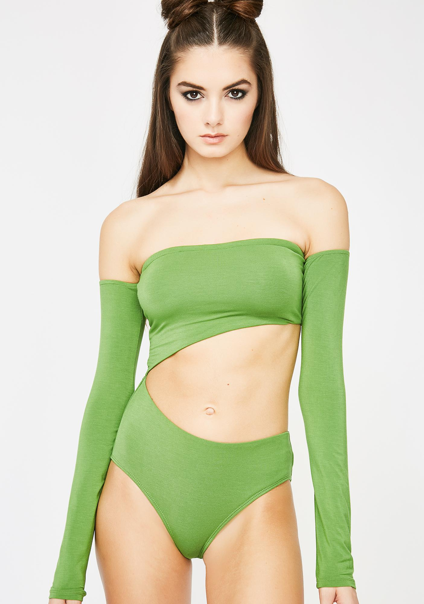 Kush Kween Cut Out Bodysuit