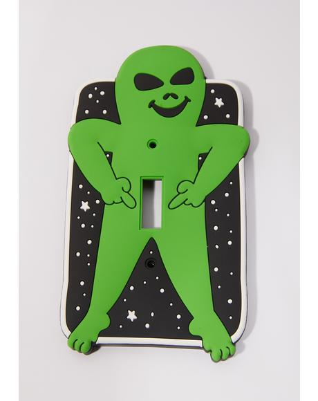 Lord Alien Light Switch Cover