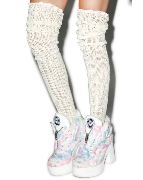 Crochet Thigh Highs
