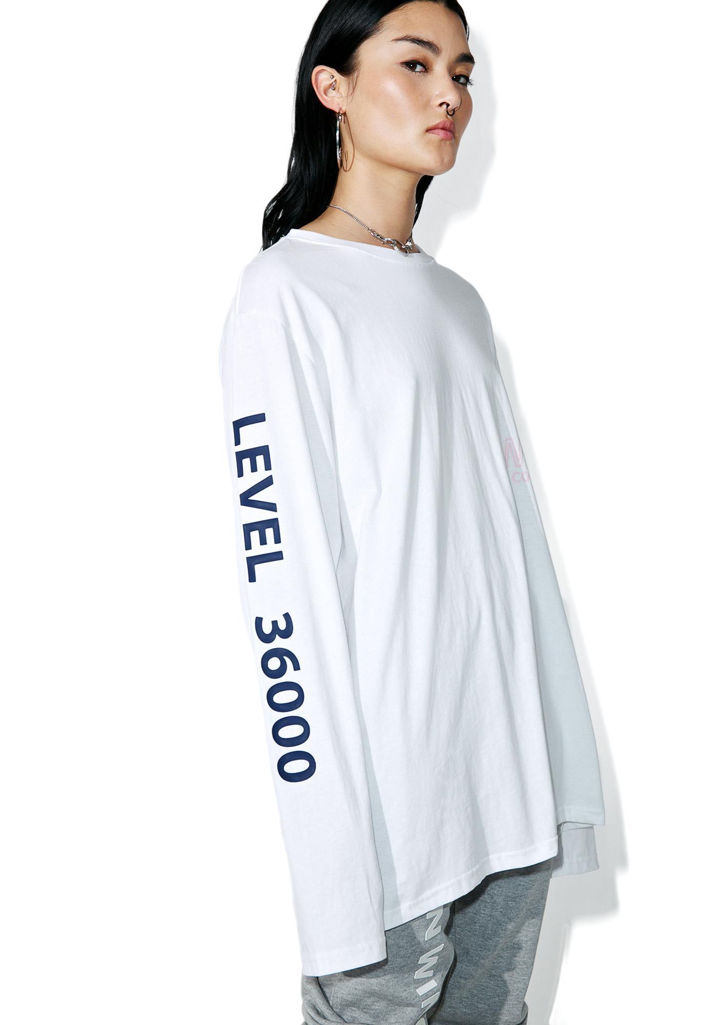 W.I.A Level 36000 Long Sleeve Tee