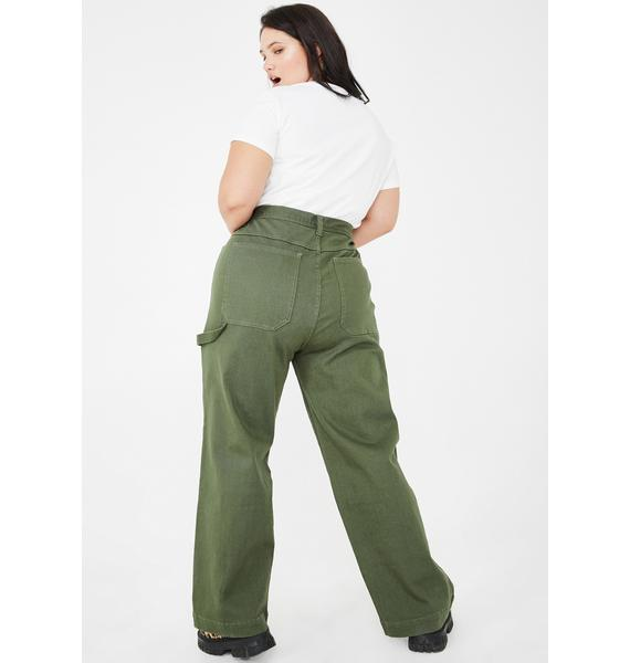 dELiA*s by Dolls Kill The Working Girl Carpenter Pants
