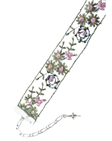 Royal Botanic Floral Choker