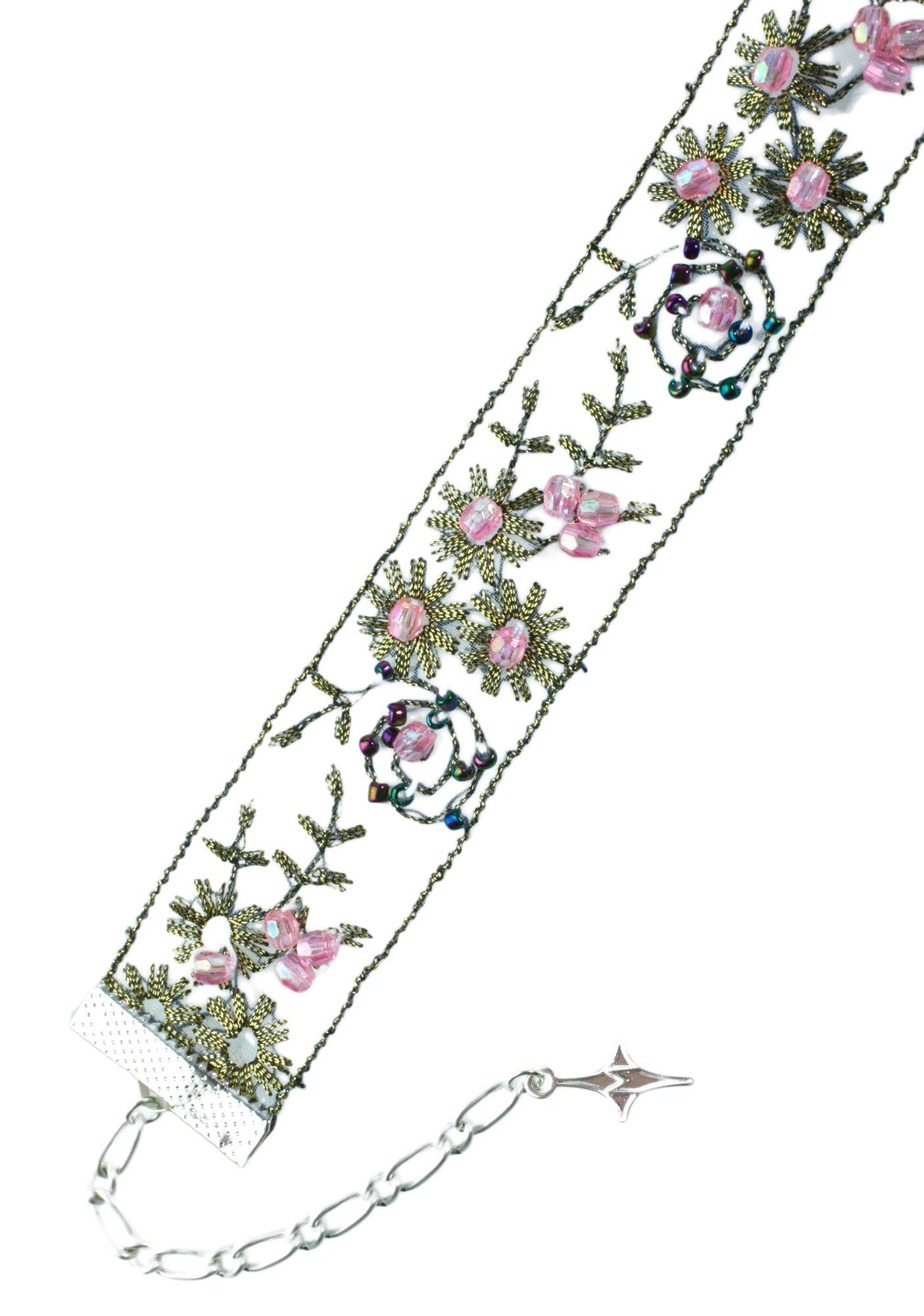 Love And Madness Royal Botanic Floral Choker