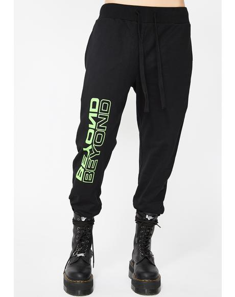 Green Beyond Jogger Sweatpants