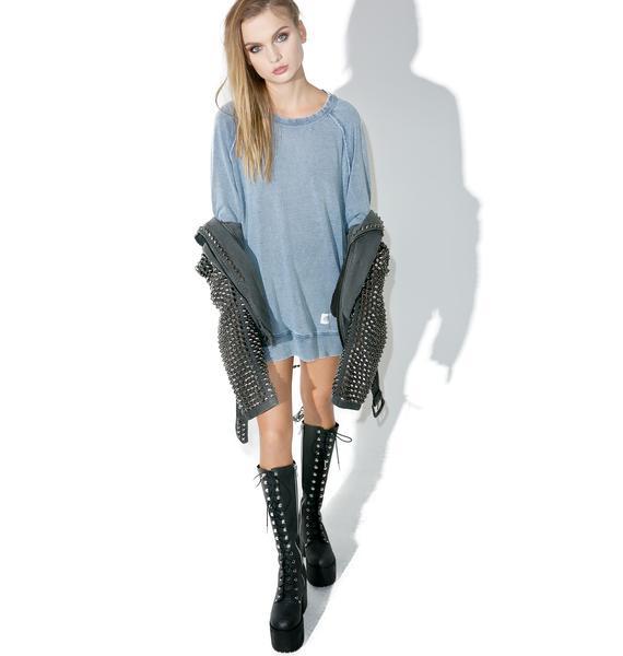 Cheap Monday Rules Denim Sweatshirt