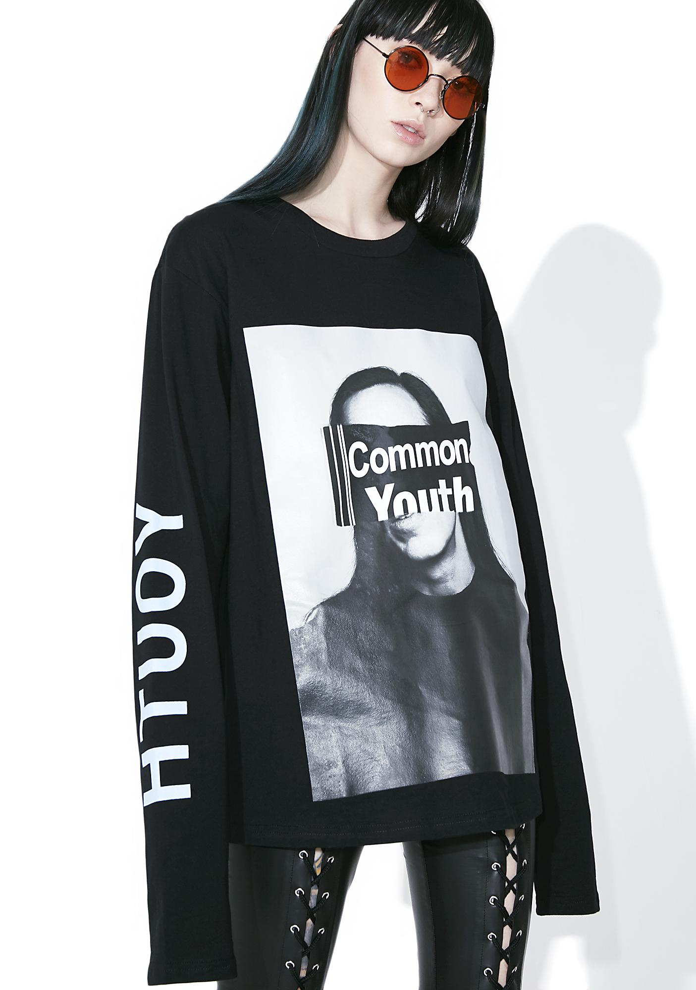 Not Common Sense Youth Long Sleeve Tee