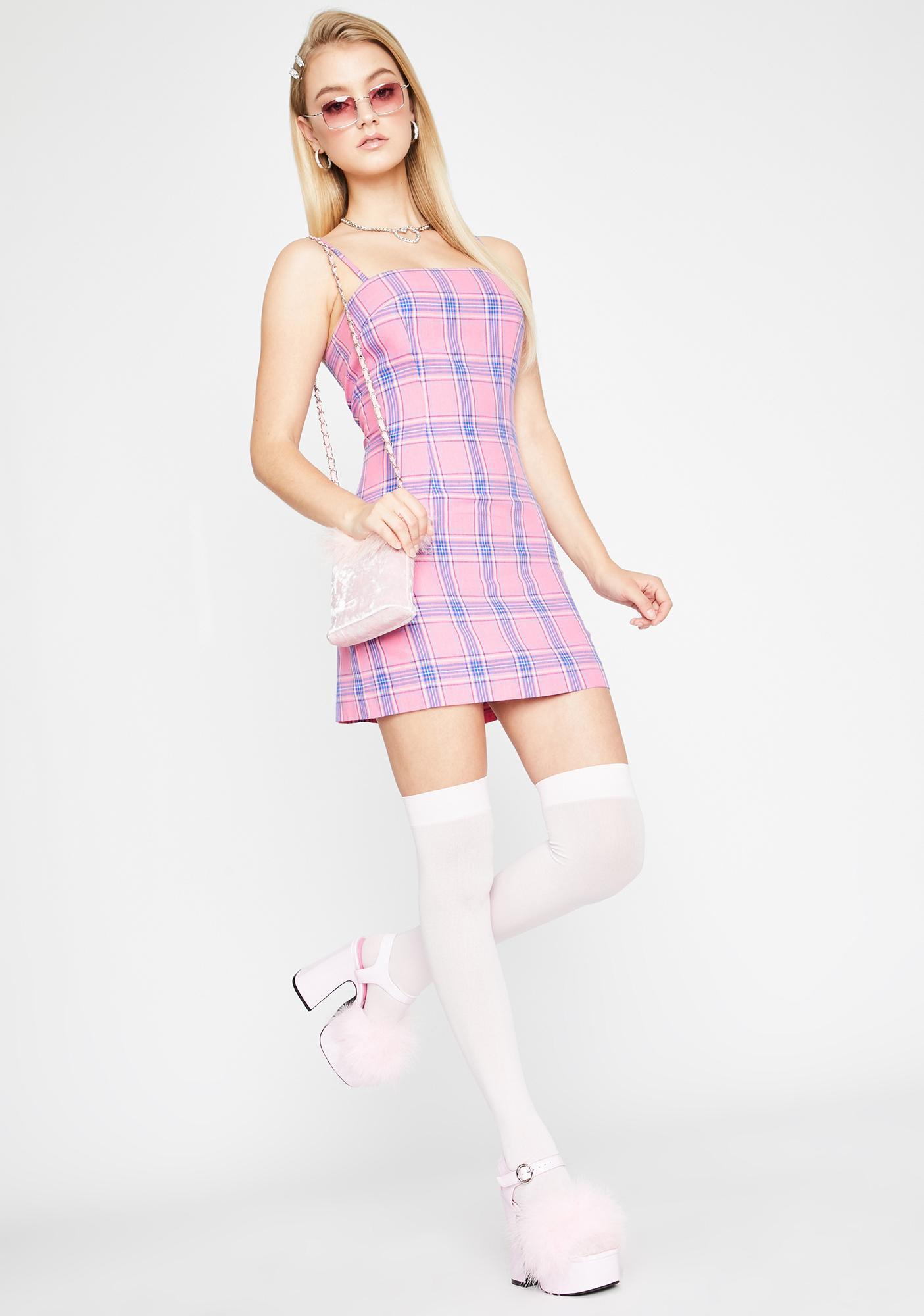 Sugar Thrillz Paid For By Daddy Mini Dress