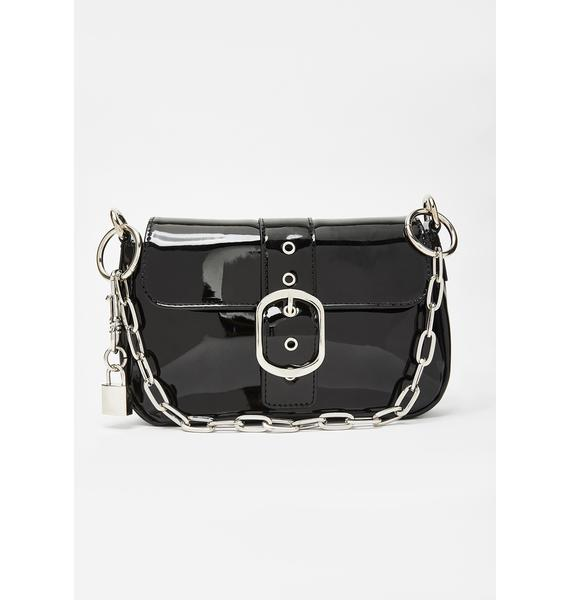 Current Mood Dean's List Patent Handbag