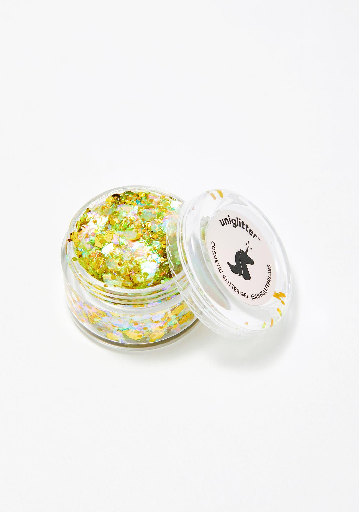 Uniglitter Sunburst Yellow UV Unicorn Glitter Gel