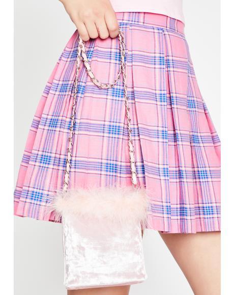 A Total Betty Marabou Mini Bag