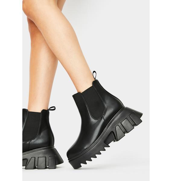 Lamoda Gearin' Up Platform Boots