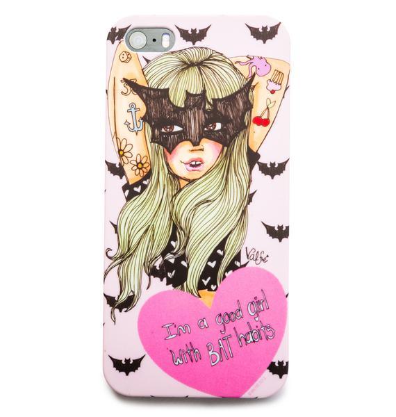 Valfré Bat Habits iPhone 5 Case