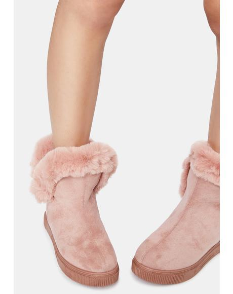Make Me Like You Faux Fur Boots