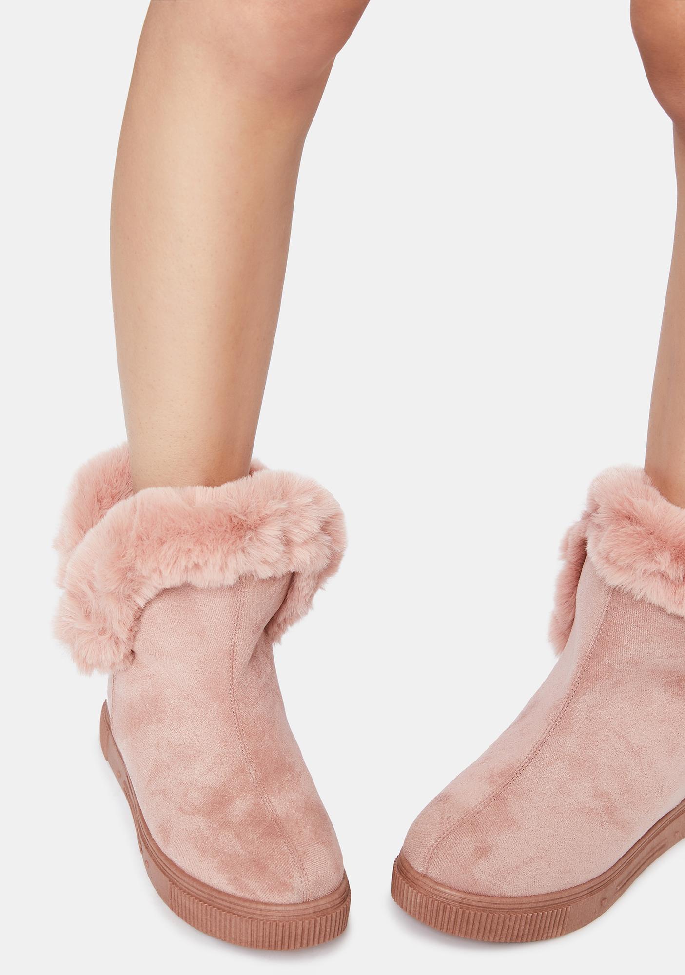 Make Me Like You Faux Fur Boots