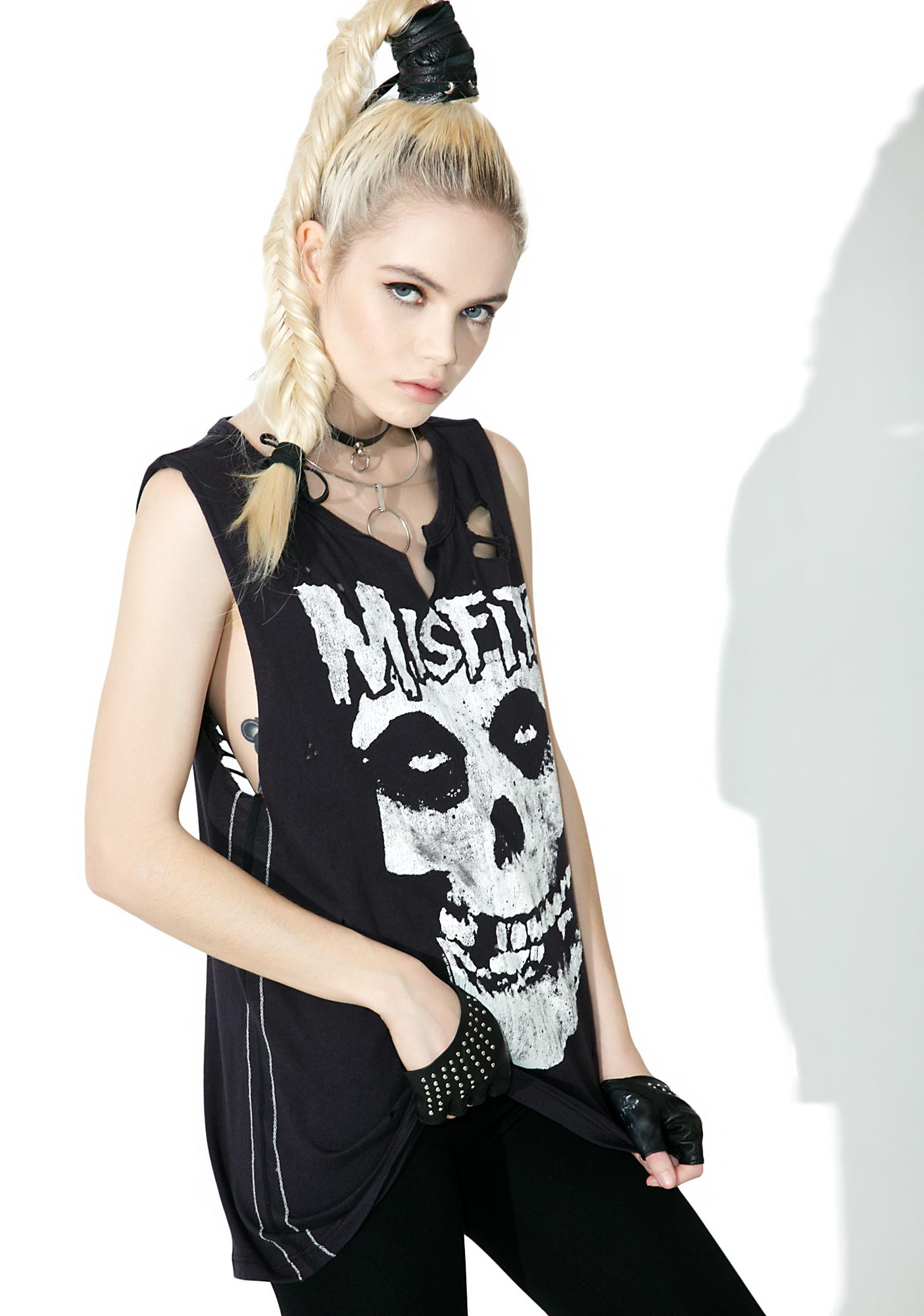 Trunk Ltd.  Misfits Destroyed Muscle Tank
