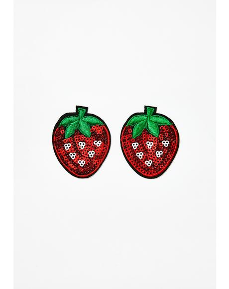 Strawberry Nifty Nipztix Pasties