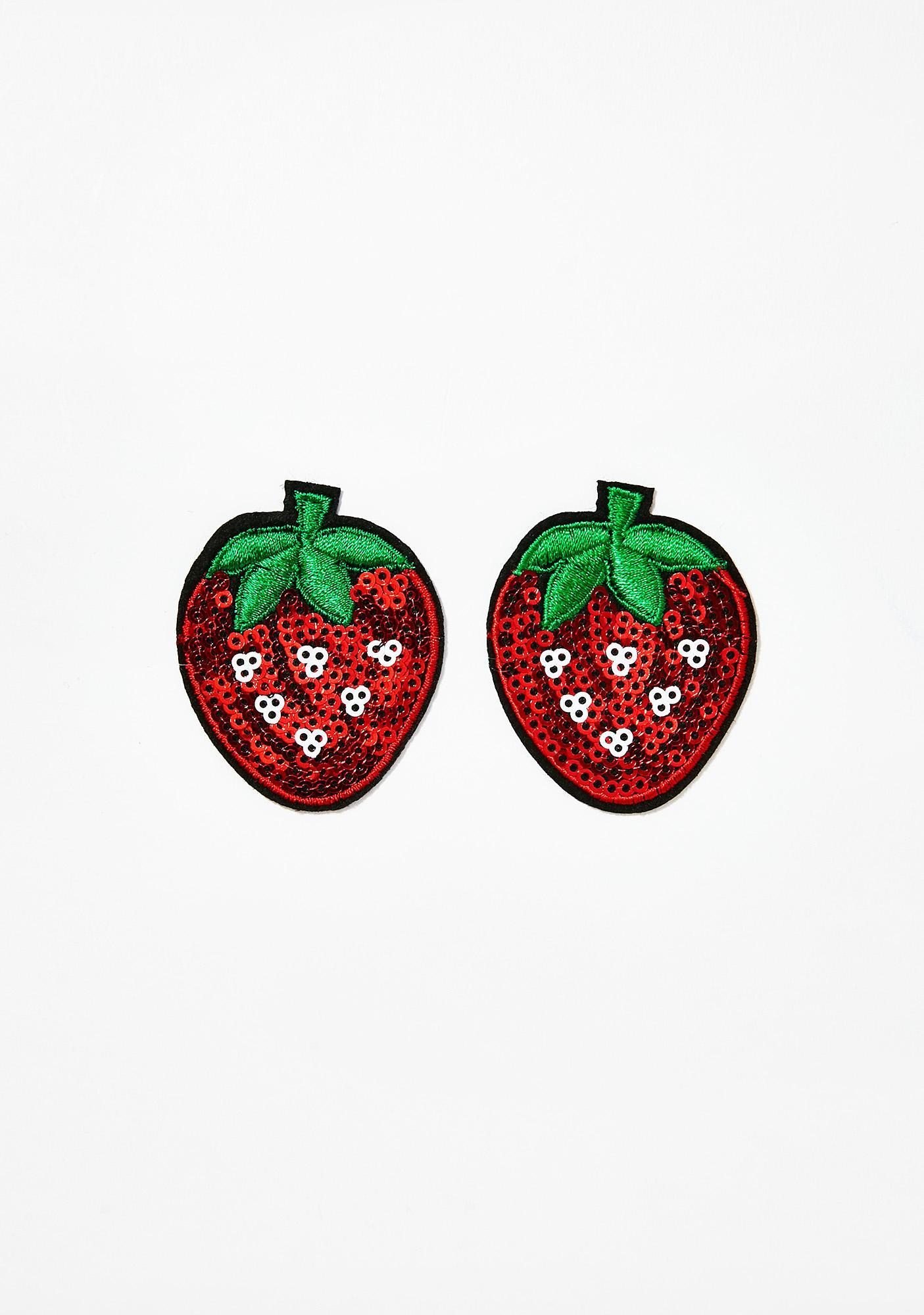 Neva Nude Strawberry Nifty Nipztix Pasties