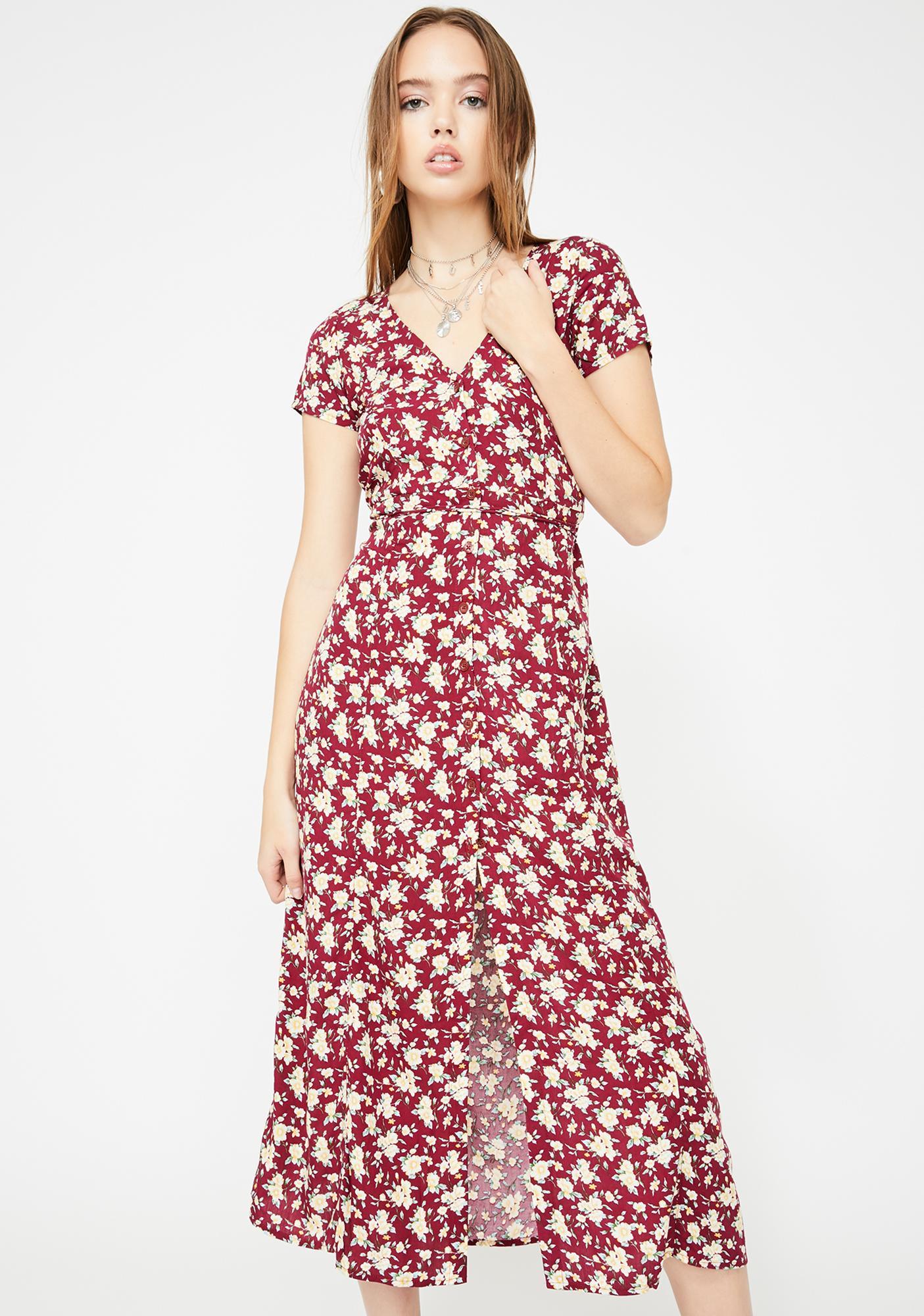 Motel Sanrin Maxi Dress