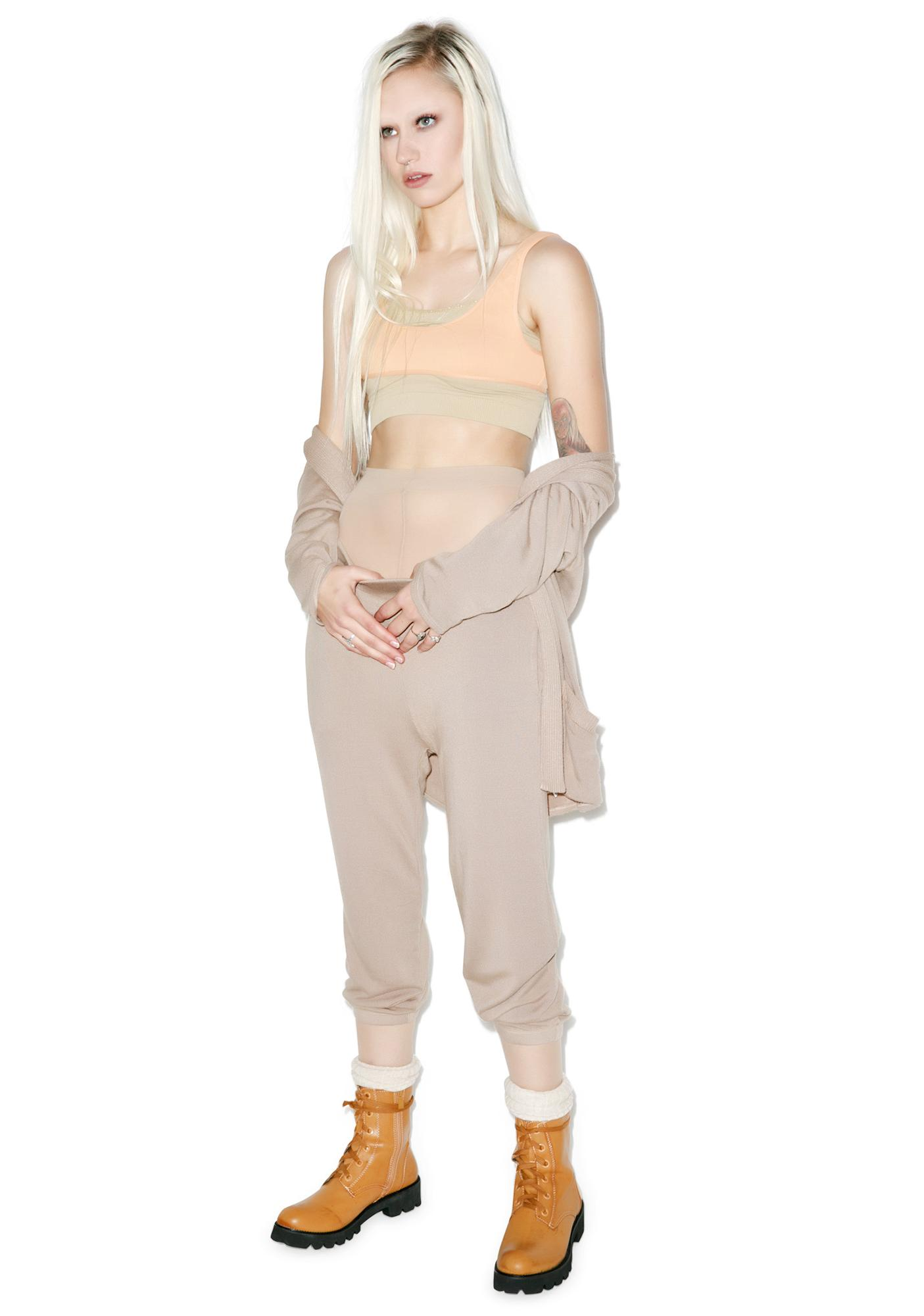Groceries Apparel Hacci Crop Sweats