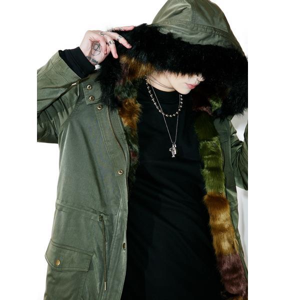 Glamorous Newark Hooded Anorak