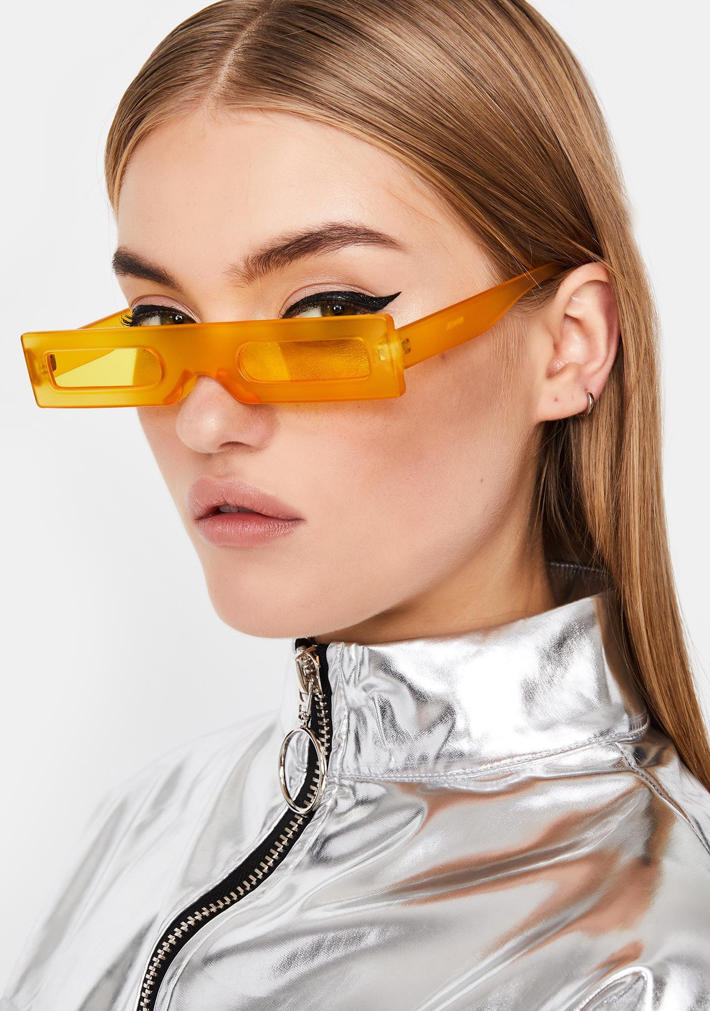 Juicy Luxury Legacy Rectangle Sunglasses
