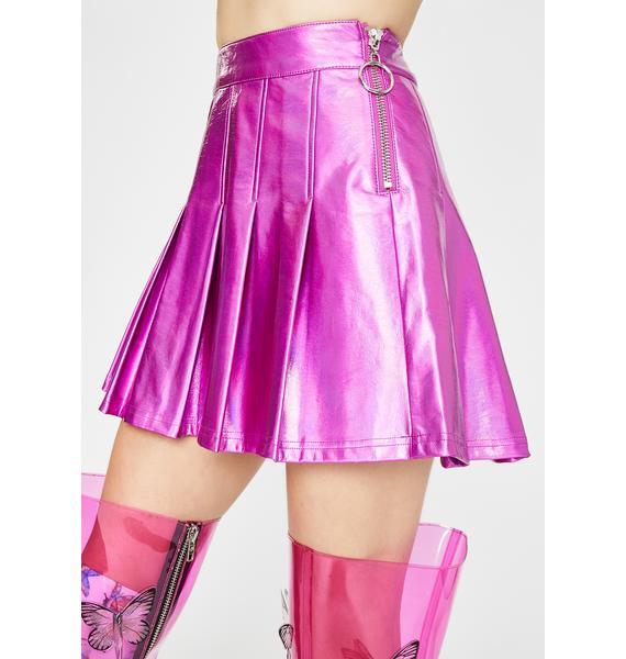 Club Exx Starlight Fantasy Pleated Skirt