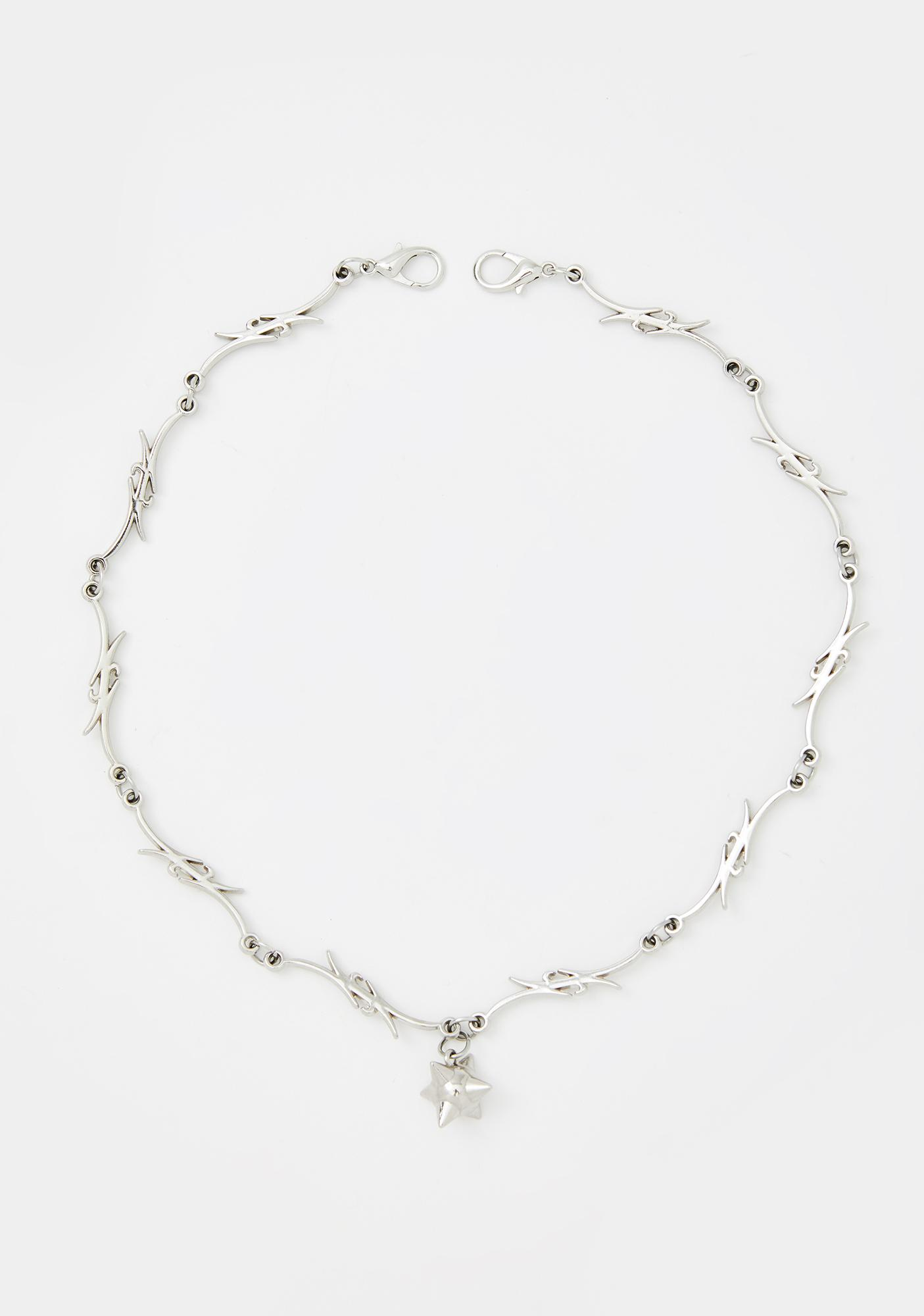 Atomic Punk Barbed Necklace