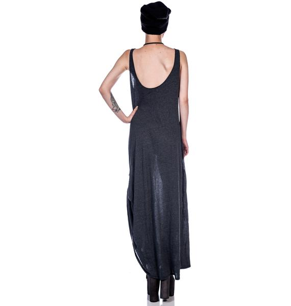 Wildfox Couture Inside Out Grunge Maxi Dress